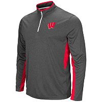 Men's Campus Heritage Wisconsin Badgers Atlas Quarter-Zip Windshirt