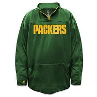 Big & Tall Majestic Green Bay Packers Birdseye Pullover