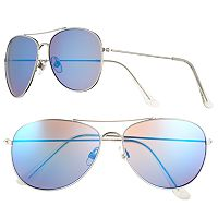 Men's Apt. 9® Polarized Mirror Aviator Sunglasses