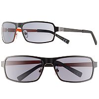 Men's Apt. 9® Black Wrap Sunglasses