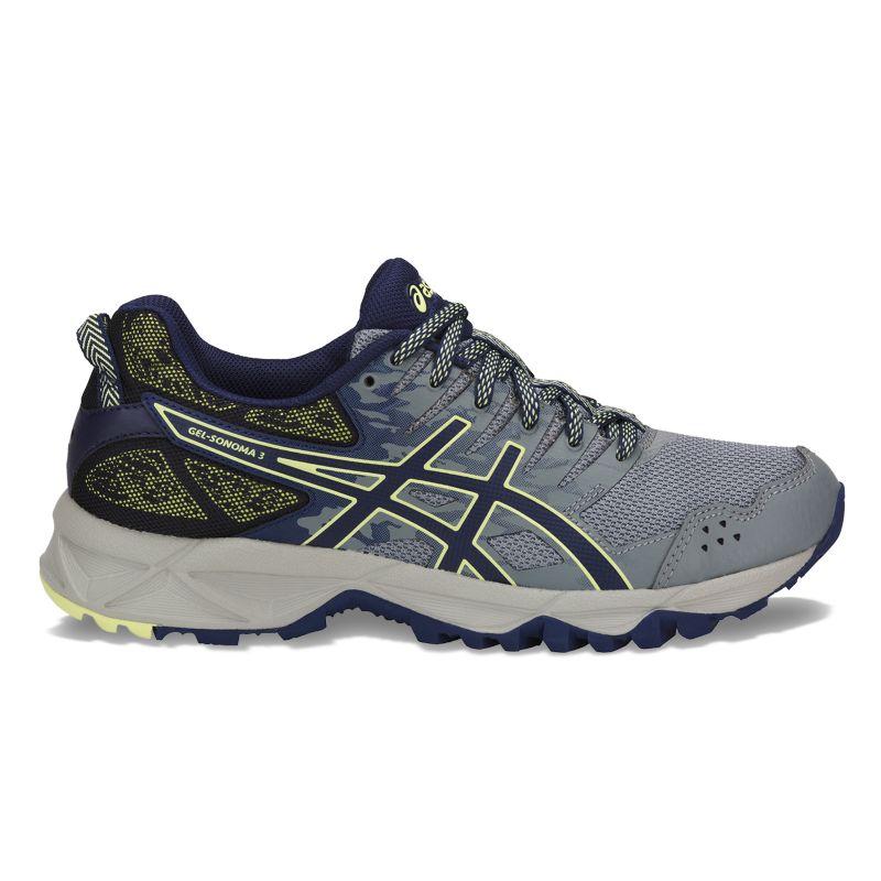 ASICS GEL-Sonoma 3 Women's Trail Running Shoes, Size: 6, Dark Grey thumbnail