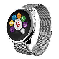 MyKronoz ZeRound Premium Smartwatch with Milanese Band