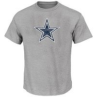 Big & Tall Majestic Dallas Cowboys Logo Tee