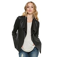 Women's E by Elan Draped Open-Front Jacket