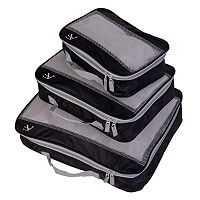 American Flyer Bright Perfect 3-Piece Packing Cube Set