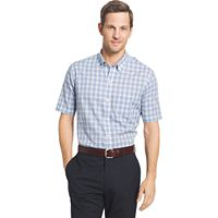Big & Tall Van Heusen Flex Stretch Short Sleeve Button-Down Shirt