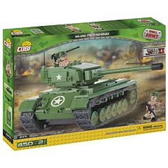 COBI Small Army M26 Pershing Tank Construction Blocks Building Kit by