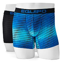 Men's equipo 2-pack Microfiber Stretch Boxer Briefs
