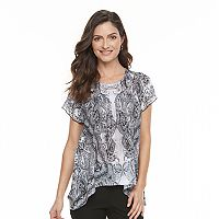 Women's World Unity Crochet Flutter Top