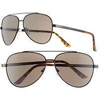 Men's Dockers Matte Aviator Sunglasses