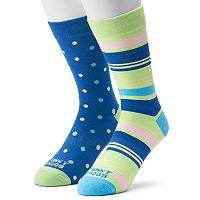 Men's Funky Socks 2-pack Bold Stripe Socks
