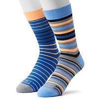 Men's Funky Socks 2-pack Bold Mini Socks