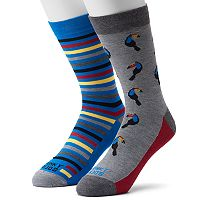 Men's Funky Socks 2-pack Toucan Socks