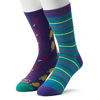 Men's Funky Socks 2-pack Popsicle Socks