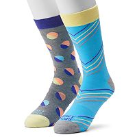 Men's Funky Socks 2-pack Vertical Socks