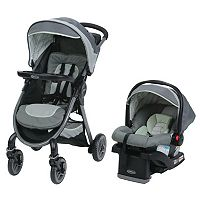 Graco FastAction 2.0 Travel System Stroller with Snugride Click Connect 35 LX