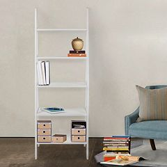 Casual Home 5-Shelf Ladder Bookcase by
