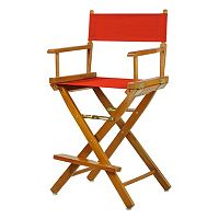 Casual Home 24-in. Honey Oak Finish Director's Chair