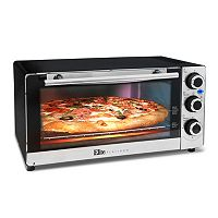 Elite Platinum 6-Slice Stainless Steel Convection Oven