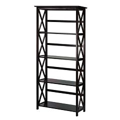 Casual Home Montego 5-Shelf Bookcase by