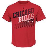 Men's Majestic Chicago Bulls Winning Tactic Tee