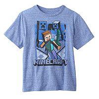 Boys 8-20 Minecraft Vintage Battle Creeper Tee