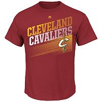 Men's Majestic Cleveland Cavaliers Winning Tactic Tee