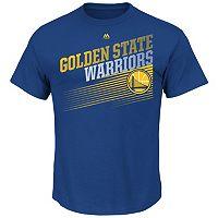 Men's Majestic Golden State Warriors Winning Tactic Tee