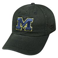 Youth Top of the World Michigan Wolverines Crew Baseball Cap