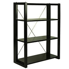 Casual Home Citiscape Folding Bookcase by