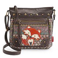 Unionbay Fox Applique Crossbody Bag