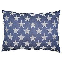 Celebrate Americana Together Stars & Stripes Reversible Oblong Throw Pillow