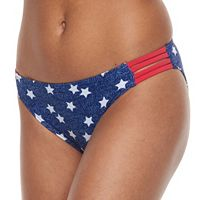 Mix and Match Stars & Stripes Scoop Bikini Bottoms