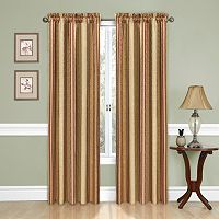 Traditions by Waverly Stripe Ensemble Curtain