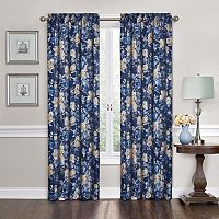 Traditions by Waverly Forever Yours Floral Curtain