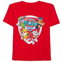 Toddler Boy Paw Patrol Rocky, Chase, Rubble & Marshall Shield Graphic Tee