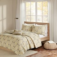 Madison Park Pure 4-piece Luna Coverlet Set