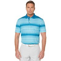 Men's Grand Slam Regular-Fit Striped Performance Golf Polo