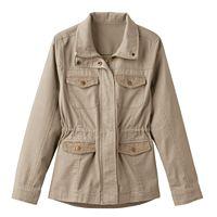 Girls 7-16 Mudd® Crochet Pocket Utility Jacket