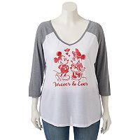 Disney's Mickey & Minnie Mouse Juniors' Plus Size