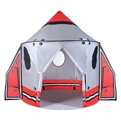 Pacific Play Tents Classic Spaceship Peach Skin Pavilion Tent with Wings by