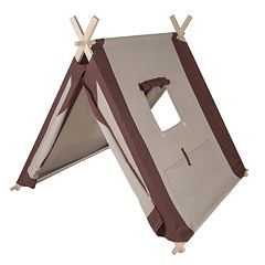 Pacific Play Tents Natural Linen A-Frame Tent by