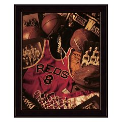 Basketball Framed Wall Art by