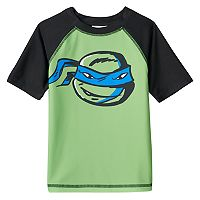 Boys 4-7 Teenage Mutant Ninja Turtles Leonardo Rash Guard