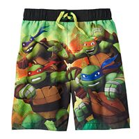 Boys 4-7 Teenage Mutant Ninja Turtles Swim Trunks