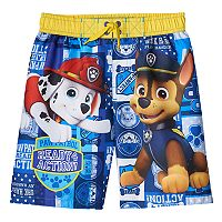 Boys 4-7 Paw Patrol Marshall & Chase Swim Trunks