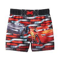 Disney / Pixar Cars 3 Lightning McQueen Baby Boy Swim Shorts