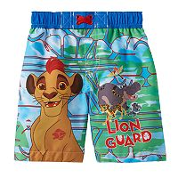 Disney's The Lion Guard Kion & Friends Toddler Boy Swim Trunks