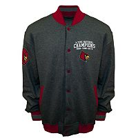 Men's Franchise Club Louisville Cardinals Classic Commemorative Varsity Jacket