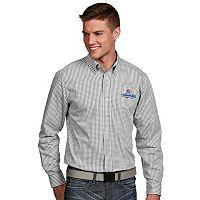 Men's Antigua Chicago Cubs 2016 World Series Champions Button-Down Shirt